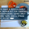 How to Make Your Own Lightweight Repair Kit